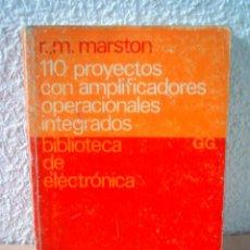 Libros de segunda mano: 110 PROYECTOS DE ALARMAS ELECTRONICAS.BIBLIOTECA DE ELECTRONICA.. Lote 52460162