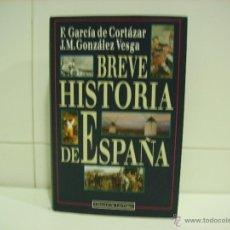 Libros de segunda mano: BREVE HISTORIA DE ESPAÑA. Lote 52483728