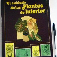Libros de segunda mano: EL CUIDADO DE LAS PLANTAS DE INTERIOR - LIBRO GUÍA PRÁCTICA - JARDINERÍA CUIDADOS TÉCNICA DECORACIÓN. Lote 52506692