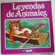 Libros de segunda mano: LEYENDAS DE ANIMALES - CAROL WATSON ILUSTRACIONES DE NICK PRICE - EL GATO Y LA RATA - LEYENDA LIBRO. Lote 52507295