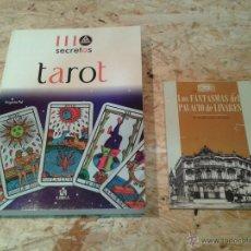 Libros de segunda mano: LIBRO DEL TAROT Y REGALO DE OTRO. Lote 52548659