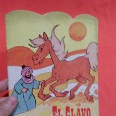 Libros de segunda mano: LIBRO TROQUELADO EL CLAVO DE LA HERRADURA . Lote 52571357