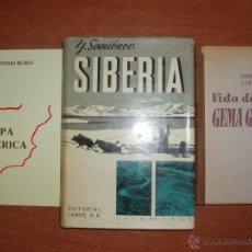 Libros de segunda mano: LOTE DE 3 LIBROS VARIAS TEMATICAS. . Lote 52596766