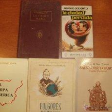 Libros de segunda mano: LOTE DE 5 LIBROS VARIAS TEMATICAS.. Lote 52600041