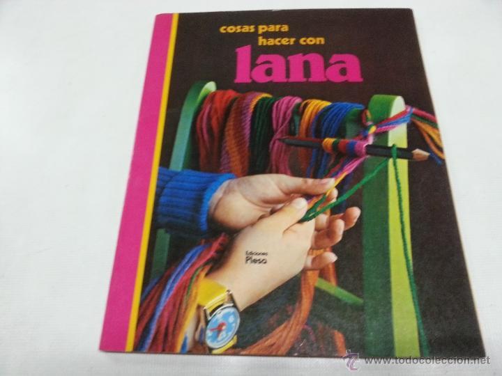 Cosas Para Hacer Con Lana Ediciones Plesa Ano 1 Comprar En - Hacer-cosas-de-lana