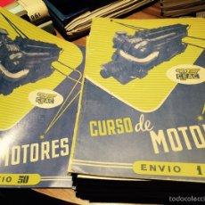 Libros de segunda mano: CURSO DE MOTORES. Lote 52632365