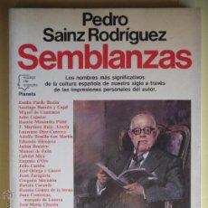 Gebrauchte Bücher - SEMBLANZAS - PEDRO SAINZ RODRIGUEZ - EDITORIAL PLANETA 1988 - 52675531