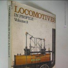 Libros de segunda mano: LOCOMOTIVES IN PROFILE VOLUME 3,BRIAN REED,1974,PROFILE ED,REF TREN BS1. Lote 52702561