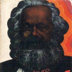 Libros de segunda mano: HENRI LEFEBVRE : MARX. (ED. GUADARRAMA, PUNTO OMEGA, 1974). Lote 52736161