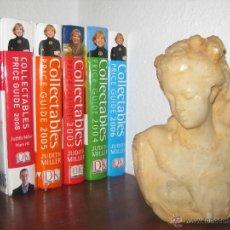 Libros de segunda mano: FANTASTICO LOTE 6 LIBROS CATALOGO COLECCIONABLES JUDITH MILLER 2003-2008 COLLECTABLES. Lote 52740998