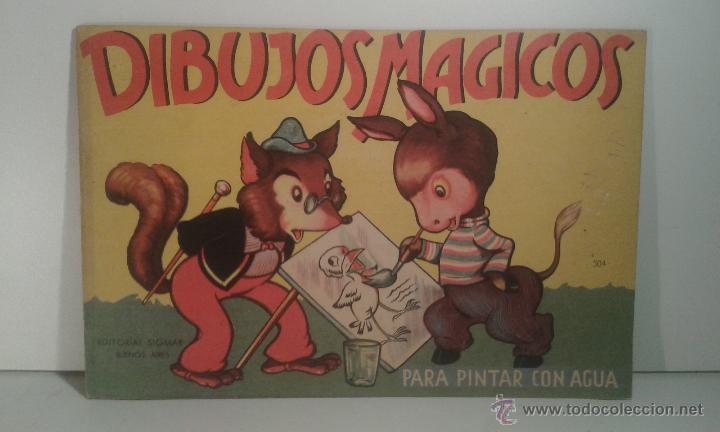 libro para colorear con agua. dibujos mágicos. - Comprar en ...