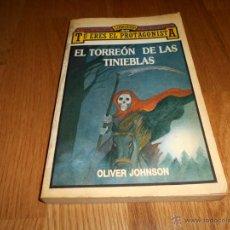 Libros de segunda mano: EL TORREÓN DE LAS TINIEBLAS (OLIVER JOHNSON) LIBRO JUEGO ARÍN - TÚ ERES EL PROTAGONISTA. Lote 52752227