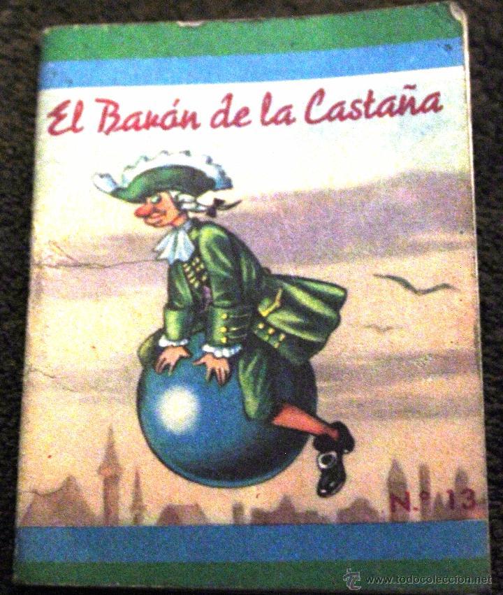CUENTO MINIATURA -EL BARÓN DE LA CASTAÑA- LIBRO 1970 (Libros de Segunda Mano - Literatura Infantil y Juvenil - Otros)