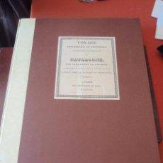 Libros de segunda mano: ALEXANDRE DE LABORDE VOYAGE LIBRO HISTÓRICO NARRATIVO DE CATALOGNE 57X44CM. Lote 52781785