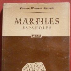 Libros de segunda mano: MARFILES ESPAÑOLES. RICARDO MARTÍNEZ LLORENTE. Lote 52793139