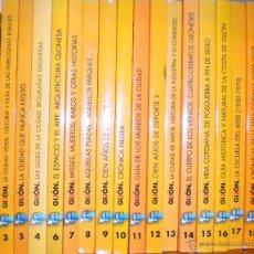 Libros de segunda mano: BIBLIOTECA GIJONESA DEL SIGLO XX , 20 VOLUMENES COLECCION COMPLETA, GIJON 1999 2001. Lote 52808877