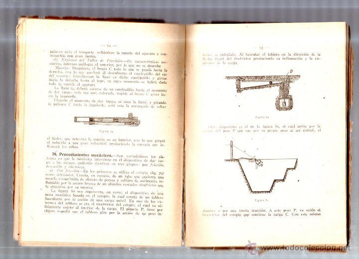 Libros de segunda mano: PRACTICA DEL EXPLOSIVO, DEL ARTIFICIO Y LA MINA. ENRIQUE COBEÑOS GONZALEZ. MADRID. 1941. LEER - Foto 4 - 52809071