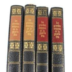 Libros de segunda mano: L-2377. LOS GRANDES ENIGMAS DE LA GUERRA FRIA. 4 LIBROS. AMIGOS DE LA HISTORIA.1968 - 69.. Lote 52817268