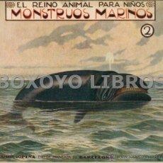 Second hand books - El reino animal para nños. Monstruos marinos 2. Ramón Sopena - 52807135