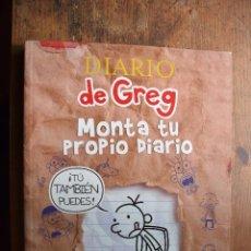 Libros de segunda mano: DIARIO DE GREG, MONTA TU PROPIO DIARIO, JEFF KINNEY, RBA, 2013. Lote 52856498