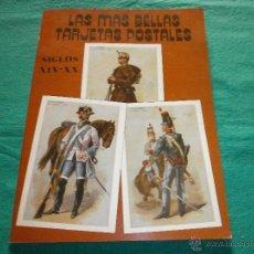 Libros de segunda mano: LIBRO LAS MAS BELLAS TARJETAS POSTALES POSTALES RECORTABLES. Lote 52863553