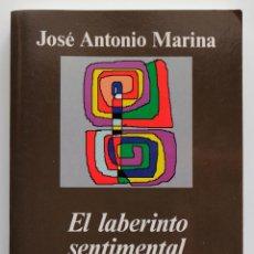 Libros de segunda mano: EL LABERINTO SENTIMENTAL - JOSÉ ANTONIO MARINA. Lote 70523366