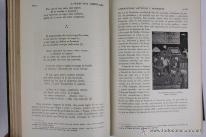 Libros de segunda mano: L-2796. HISTORIA DE LAS LITERATURAS ANTIGUAS Y MODERNAS. RAMON D. PERÉS. ED. RAMON SOPENA. 1941. - Foto 4 - 52939054