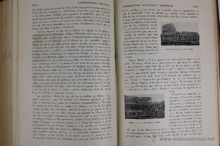 Libros de segunda mano: L-2796. HISTORIA DE LAS LITERATURAS ANTIGUAS Y MODERNAS. RAMON D. PERÉS. ED. RAMON SOPENA. 1941. - Foto 5 - 52939054