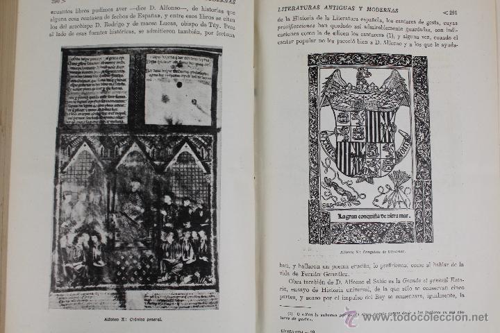Libros de segunda mano: L-2796. HISTORIA DE LAS LITERATURAS ANTIGUAS Y MODERNAS. RAMON D. PERÉS. ED. RAMON SOPENA. 1941. - Foto 6 - 52939054