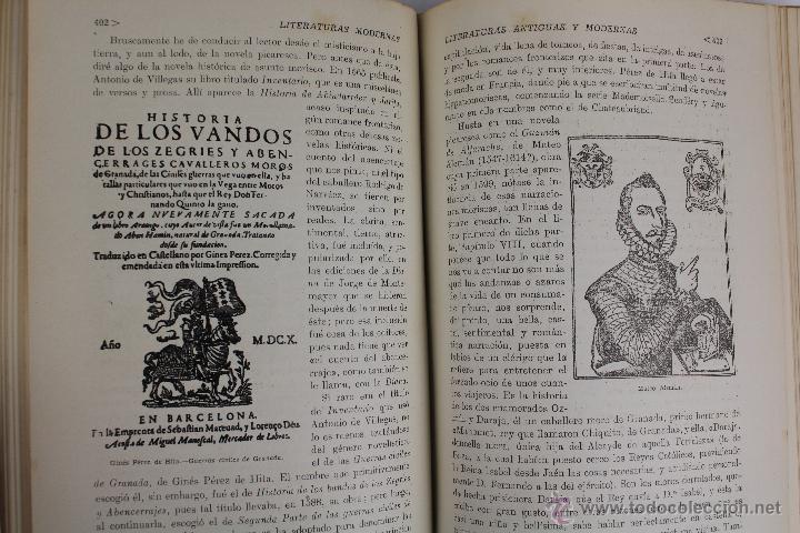 Libros de segunda mano: L-2796. HISTORIA DE LAS LITERATURAS ANTIGUAS Y MODERNAS. RAMON D. PERÉS. ED. RAMON SOPENA. 1941. - Foto 7 - 52939054