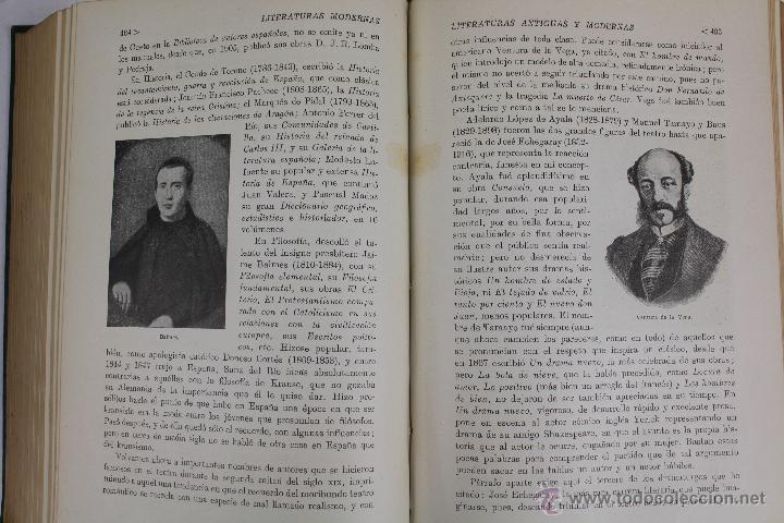 Libros de segunda mano: L-2796. HISTORIA DE LAS LITERATURAS ANTIGUAS Y MODERNAS. RAMON D. PERÉS. ED. RAMON SOPENA. 1941. - Foto 8 - 52939054