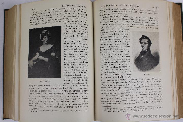 Libros de segunda mano: L-2796. HISTORIA DE LAS LITERATURAS ANTIGUAS Y MODERNAS. RAMON D. PERÉS. ED. RAMON SOPENA. 1941. - Foto 9 - 52939054