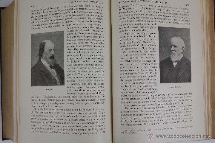 Libros de segunda mano: L-2796. HISTORIA DE LAS LITERATURAS ANTIGUAS Y MODERNAS. RAMON D. PERÉS. ED. RAMON SOPENA. 1941. - Foto 10 - 52939054