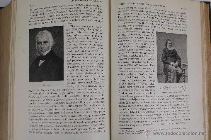 Libros de segunda mano: L-2796. HISTORIA DE LAS LITERATURAS ANTIGUAS Y MODERNAS. RAMON D. PERÉS. ED. RAMON SOPENA. 1941. - Foto 11 - 52939054