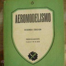Libros de segunda mano: AEROMODELISMO ROBERTO DESIRELLO PAN AMERICA BUENOS AIRES 1947 DESPLEGABLES . Lote 52939451