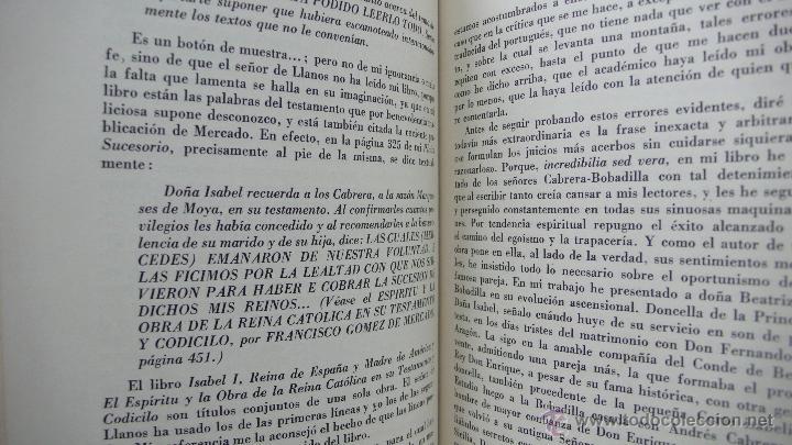 Libros de segunda mano: ORESTES FERRARA. DOÑA ISABEL LA CATÓLICA Y DOÑA JUANA (LA BELTRANEJA). 1947. - Foto 4 - 52957405