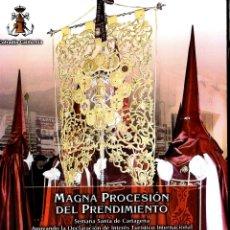 Libros de segunda mano: SEMANA SANTA CARTAGENA MAGNA PROCESION PRENDIMIENTO EN BRAILLE 57 PAGINAS . Lote 52964494