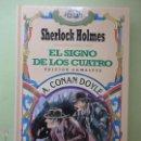 Libros de segunda mano: EL SIGNO DE LOS CUATRO. A. CONAN DOYLE.. Lote 52979197
