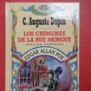 Libros de segunda mano: LOS CRÍMENES DE LA RUE MORGUE. EDGAR ALLAN POE.. Lote 52981653