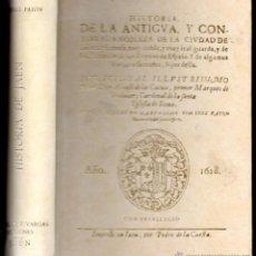Libros de segunda mano: XIMENEZ PATON : HISTORIA DE LA ANTIGUA Y CONTINUADA NOBLEZA DE JAÉN 1628 - FACSÍMIL DE 1983. Lote 52999082