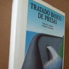 Libros de segunda mano: TRATADO BASICO DE PRESAS. EUGENIO VALLARINO. COL. SENIOR Nº 11. ESCUELA DE INGENIEROS DE CAMINOS . Lote 53079381