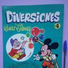 Libros de segunda mano: DIRVERSIONES, WALT DISNEY,1972. Lote 53086150