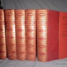 Libros de segunda mano: COSTUMARI CATALÁ - JOAN AMADES - 1ª EDICIÓN ORIGINAL AÑO 1950 - MONUMENTAL OBRA ILUSTRADA.. Lote 53110334