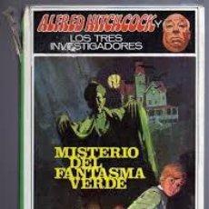 Libros de segunda mano: ALFRED HITCHCOCK Y LOS TRES INVESTIGADORES,MISTERIO DEL FANTASMA VERDE. Lote 53121869