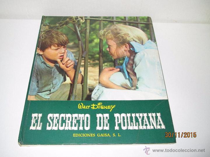 Libros de segunda mano: Antiguo *EL SECRETO DE POLLYANA* de Walt Disney y Ediciones GAISA del Año 1968 - Foto 5 - 53123598