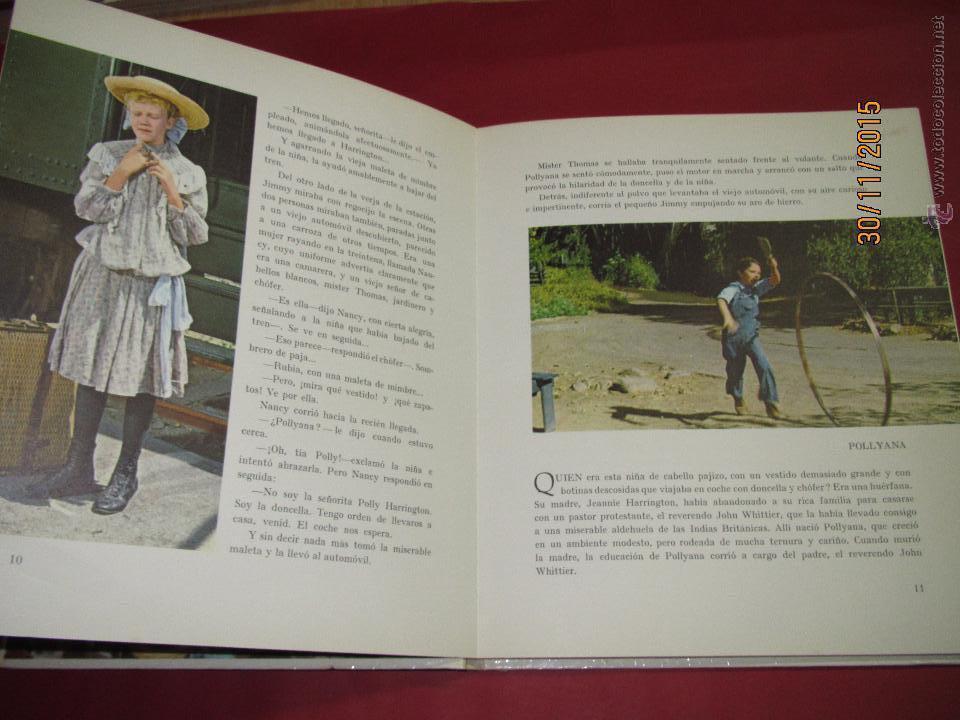 Libros de segunda mano: Antiguo *EL SECRETO DE POLLYANA* de Walt Disney y Ediciones GAISA del Año 1968 - Foto 6 - 53123598