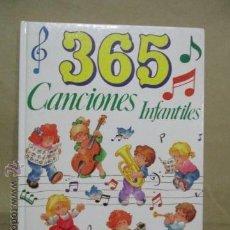 Libros de segunda mano: 365 CANCIONES INFANTILES-IMP. GRAFALCO S.A.-126 PAGINAS-AÑO 1991-MADRID. Lote 146814474
