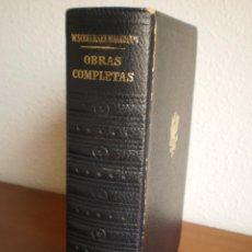 Libros de segunda mano: OBRAS COMPLETAS SOMERSET MAUGHAN.TOMO II NOVELAS. Lote 53148214
