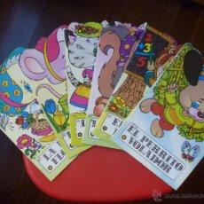Libros de segunda mano: TROQUELADOS BRUGUERA PATITA RATITA ARDILLA PERRITO PROFE LEONCIO. Lote 53150963