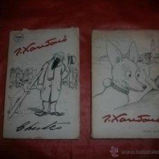 Libros de segunda mano: CHISTES (ILUSTRADOS) DE JOAQUÍN XAUDARO. IMP. PRENSA ESPAÑOLA. 1945. TOMOS 1 Y 2.. Lote 53171525